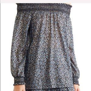 MICHAEL Michael Kors off shoulder blouse top XS